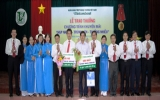 """Vietcombank Bình Dương trao thưởng chương trình """"Nạp nhanh -  Trúng lớn - Thưởng nhiều"""""""