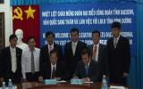 Liên đoàn Lao động tỉnh ký kết biên bản ghi nhớ với Công đoàn tỉnh Daejeon (Hàn Quốc)