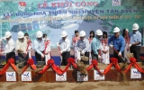 Khởi công xây dựng nhà thiếu nhi huyện Tân Uyên