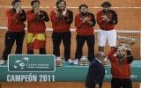 Tuyển Tây Ban Nha lên ngôi Davis Cup