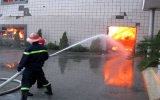 Bắc Ninh: Cháy lớn thiêu rụi toàn bộ một nhà máy