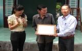 Công ty TNHH MTV Xổ số Kiến thiết Bình Dương trao tặng 2 căn nhà đại đoàn kết