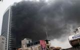 Hà Nội: Tòa nhà điện lực tại phố Cửa Bắc cháy lớn