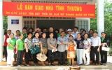 Câu lạc bộ Nữ doanh nhân Bình Dương vận động trên 1,3 tỷ đồng làm công tác xã hội