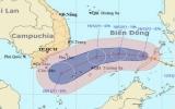 Bão Washi vào biển Đông, trở thành cơn bão số 7