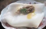 Thơm dẻo bánh cuốn trứng xứ Lạng