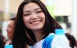 Hoa hậu Thùy Dung kêu gọi đội mũ bảo hiểm cho trẻ em