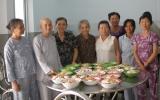 Thêm một tổ chức nấu ăn từ thiện tại Tỉnh hội Người mù