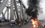 Xăng bị nghi là thủ phạm gây cháy xe