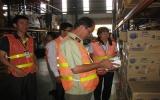 Kiểm tra an toàn vệ sinh thực phẩm một số doanh nghiệp