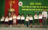 Trao 40 suất học bổng cho học sinh nghèo hiếu học