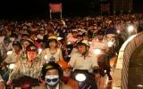 Hà Nội, TP.HCM chào đón năm 2012
