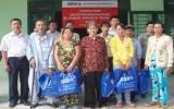 BIDV - Chi nhánh Mỹ Phước: Trao nhà đại đoàn kết và tặng quà Tết cho hộ nghèo