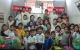 Đoàn cơ sở CIC 3-2 trao quà xuân cho trẻ em có hoàn cảnh khó khăn