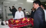 Bộ trưởng vào bệnh viện đánh giá tai nạn giao thông