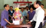 Thị xã Thuận An: Người nghèo đón tết đầm ấm