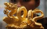 Tháng 1, giá vàng tăng 2,6 triệu đồng/lượng