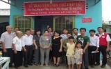 Hội Chữ thập đỏ tỉnh trao tặng 2 căn nhà cho người nghèo