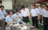 Lãnh đạo tỉnh Bình Dương và Kiên Giang thăm, làm việc tại Công ty Điện tử Foster