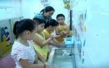 Các trường mầm non:  Tăng cường phòng chống dịch bệnh