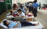 Tân Uyên: Hội Chữ thập đỏ huyện tổ chức hiến máu nhân đạo