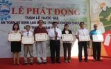 Phát động Tuần lễ Quốc gia về an toàn vệ sinh lao động – phòng chống cháy nổ 2012