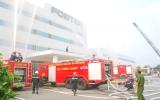 Diễn tập phương án cứu nạn cứu hộ, chữa cháy tại Công ty Foster Việt Nam