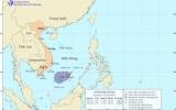Áp thấp nhiệt đới gây gió giật cấp 9 ở Trường Sa