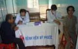 Bệnh viện Đa khoa Mỹ Phước tổ chức khám bệnh từ thiện tại xã An Linh (Phú Giáo)
