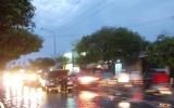 Mưa lớn gây ngập cục bộ một số tuyến đường