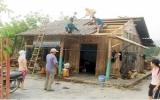 Lào Cai: Mưa đá dữ dội gây hại hoa màu, nhà cửa