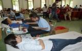 Hơn 210 người tham gia hiến máu tình nguyện