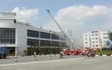 Diễn tập phương án cứu nạn cứu hộ, chữa cháy tại Công ty LD TNHH Khu công nghiệp Việt Nam – Singapore