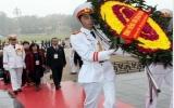 Trên 42.000 lượt người vào Lăng viếng Chủ tịch Hồ Chí Minh