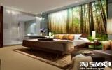 """""""Đổi gió"""" cho phòng khách với tranh tường"""