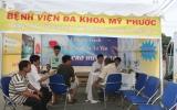 Hơn 200 người được tầm soát và tư vấn miễn phí bệnh tăng huyết áp
