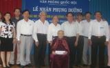 Văn phòng Quốc hội nhận phụng dưỡng mẹ Việt Nam anh hùng Nguyễn Thị Mua