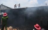 Hỏa hoạn thiêu rụi xưởng chế biến gỗ