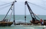 Trục vớt tàu Trường Hải Star chìm ở biển Vũng Tàu