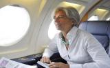 Christine Lagarde, bà mẹ đơn thân