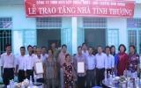 Công ty TNHH Một thành viên Cấp thoát nước - Môi trường Bình Dương tổ chức trao tặng 2 căn nhà tình thương