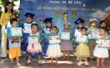 Trường Bé Yêu tặng quà cho con công nhân