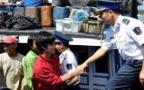 Cứu tàu cá bị nạn cùng 12 ngư dân trở về an toàn