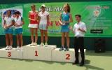 Giải quần vợt đồng đội trẻ toàn quốc lần thứ nhất: Bình Dương đoạt 2 cúp vô địch