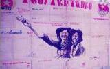 Tờ báo tường trên chốt tiền tiêu