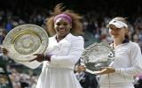 Serena Williams đăng quang tại Wimbledon