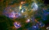 Màu sắc rực rỡ của vũ trụ