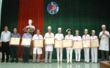 12 cá nhân được tặng Kỷ niệm chương Vì sức khỏe nhân dân