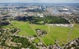 Phòng tuyến bảo vệ Olympic Lodon nhìn từ trên không