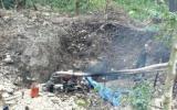 Sập hầm vàng, 3 người chết, 7 người bị thương